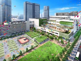 大規模複合開発「有明ガーデン」内に「都市型イオンスタイル」有明ガーデンがオープン
