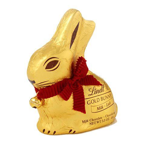 イースター限定のチョコレート「リンツ ゴールドバニー ミルク 100g」