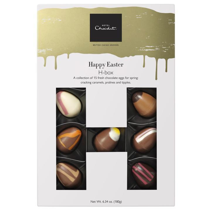 イースター限定のチョコレート「ハッピーイースターHボックス(15個入)アルコール含」