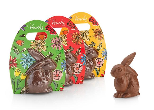 イースター限定のチョコレート「ミルクチョコレート バニー」