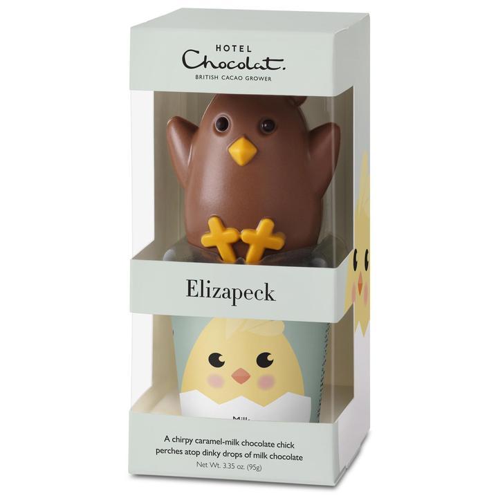 イースター限定のチョコレート「エリザペック キャラメル & ミルク」
