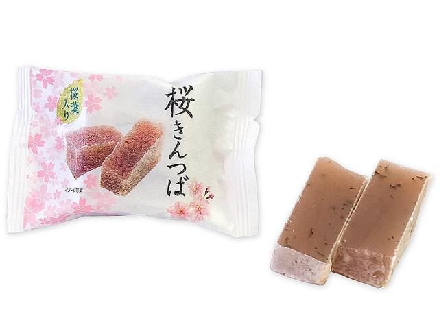 セブンの桜スイーツ「市岡製菓 桜きんつば」