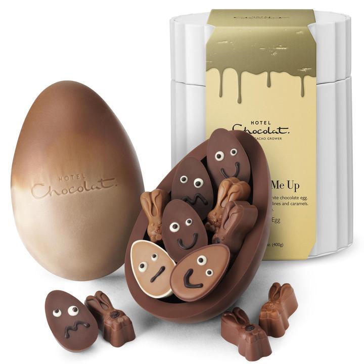 イースター限定のチョコレート「クストラシックエッグ【ユークラックミーアップ】」