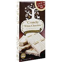 業務スーパーの輸入お菓子「クランチホワイトチョコレート」