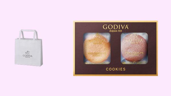 セブン-イレブンのホワイトデー商品「ゴディバ クッキー アソートメント 4枚入」