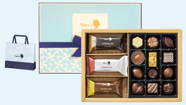 セブン-イレブンのホワイトデー商品「メリーチョコレート チョコレート&ミルフィーユ」