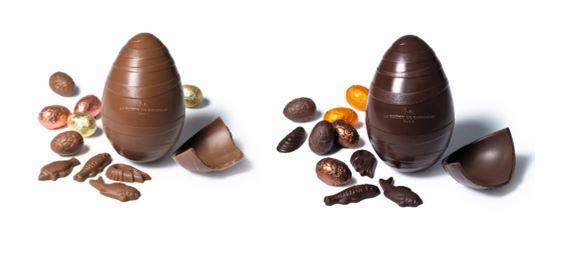 イースター限定のチョコレート「ウフ レ / ウフ ノアール」