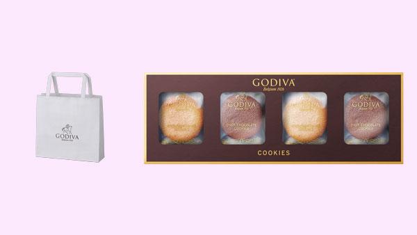 セブン-イレブンのホワイトデー商品「ゴディバ クッキー アソートメント 8枚入」