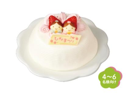 セブンの「ひなまつりケーキ」