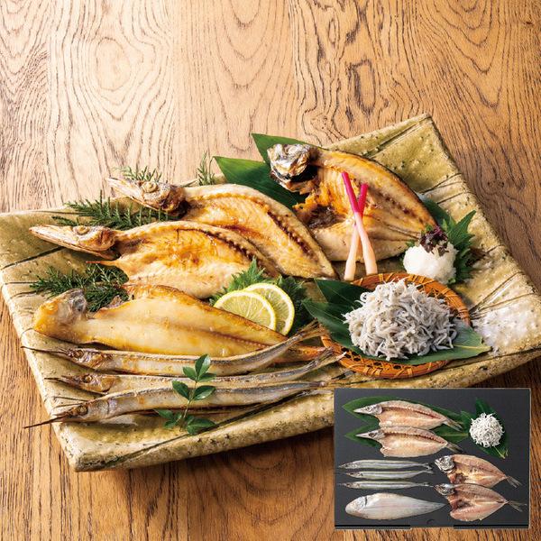 母の日のギフト「瀬戸内 朝食の魚おかずセット」
