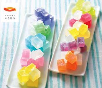 母の日のギフト「10種の色と風味を楽しめる琥珀糖」