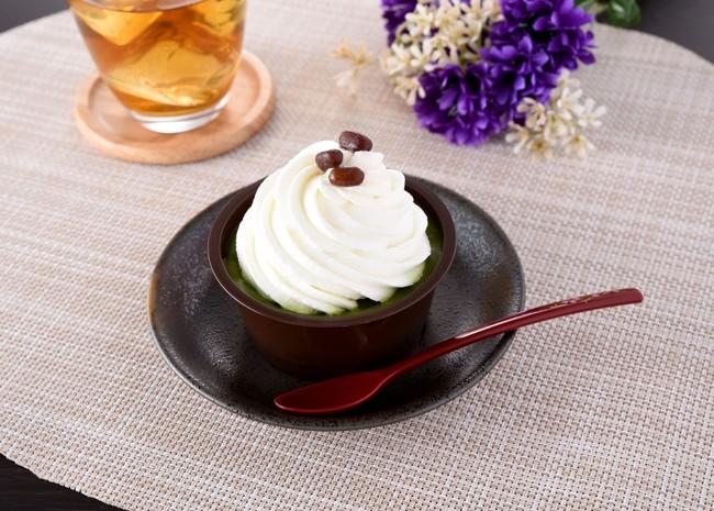 ファミマのクリームほおばる宇治抹茶ケーキ