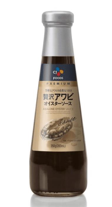 CJジャパン 贅沢アワビオイスターソース 350g
