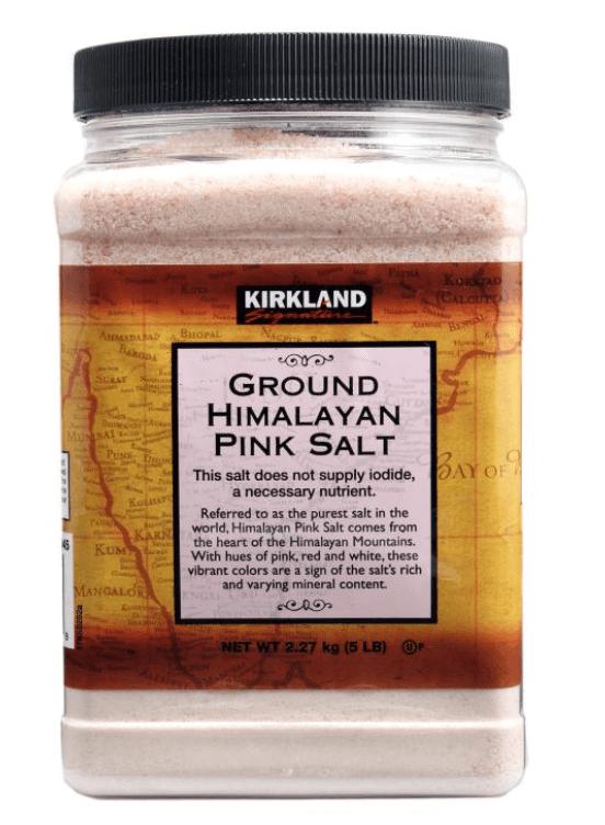 カークランドシグネチャー ヒマラヤピンク岩塩 2.27kg