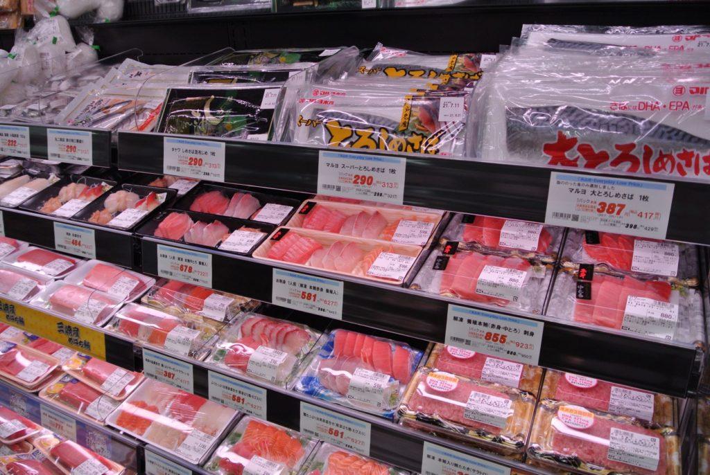 食品, ボックス, 販売, 表示 が含まれている画像  自動的に生成された説明