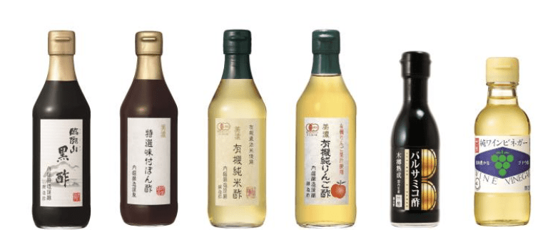 3.内堀醸造 酢のバラエティセット6種
