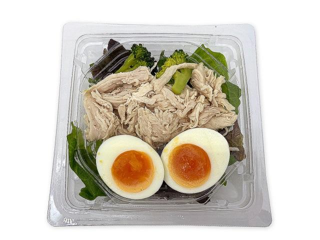 たんぱく質が摂れる 鶏むね肉のサラダ