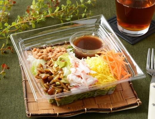 納豆のNEBANEBA抹茶麺サラダ