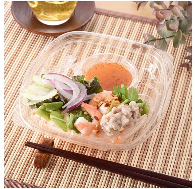 海老とパクチーの春雨サラダ