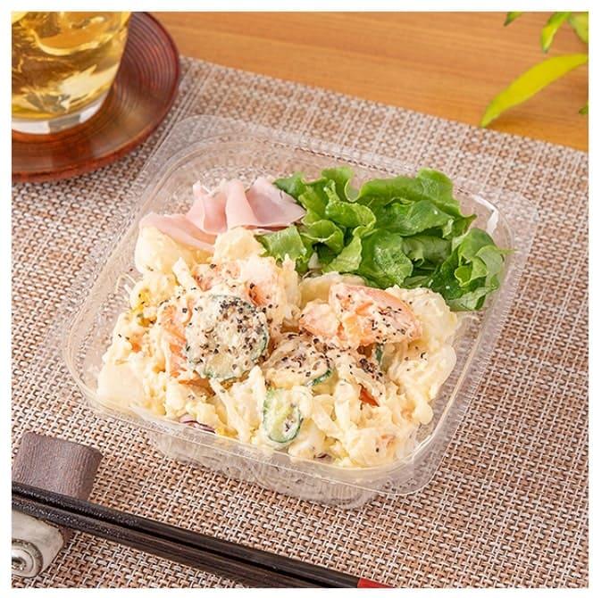 北海道産ポテトと食べるサラダ