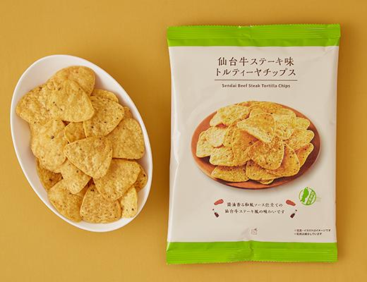 仙台牛ステーキ味トルティーヤチップス 70g